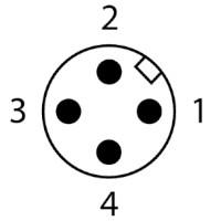 4-PIN, kodowanie A
