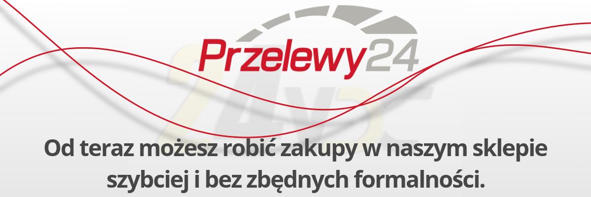 Przelewy24 od teraz w sklepie 24VDC.pl