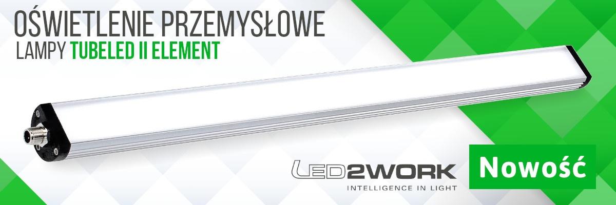 Nowość - Nowa seria TUBELED_40 II Element od LED2WORK!