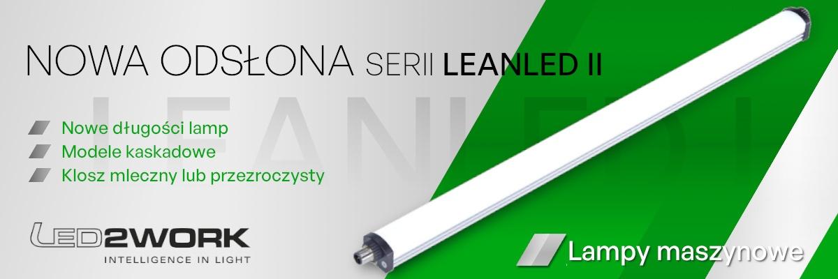 Nowość - Nowa odsłona lamp z serii LEANLED od LED2WORK!